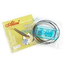 Ukulele Strings Black Nylon Or Clear Nylon ALICE Professional Uku 4 Strings Uke Light String encordoamento(China)