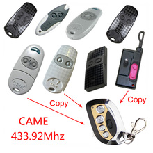copy remote control CAME TOP432EE / CAME TOP432EV Duplicator 433.92 mhz remote control Universal Garage Door Gate Fob Remote
