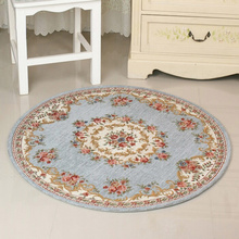 90x90cm large Bathroom Rugs Mats Carpets,Retro Flower Pattern Anti Slip Bathroom Mats And Rugs,Toilet Rug Baby Bath Pad Alfombra