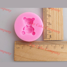 Mini bear silicone mold,cake molds for cakes,cake decorating tools chocolate mould,soap candle molds clay candy moldes