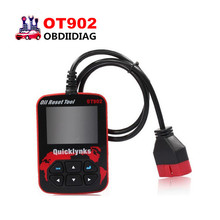 Quicklynks OT902 Color Display OBDII/EOBD Oil/Service Reset Tool OT902 Code Diagnostic Airbag Reset Tool OT902(China)