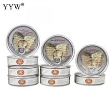 YYW Box Vacuum-pack Freshwater Cultured Love Wish Pearl Oyster 4-6mm One Pearl Oyster with One Pearl Mussel Shell Oysters Pearls
