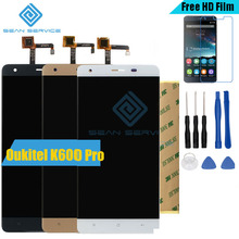 "For Oukitel K6000 Pro LCD in Mobile phone LCD Display and TP Touch Screen Digitizer Assembly lcds +Tools 5.5"" 1920x1080P stock"