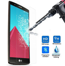 High Quality Anti-Explosion 0.3mm Tempered Glass film for LG G4 G3 G2 mini Nexus 5 Stylo Hardness 9H 2.5D Screen Protector Glass
