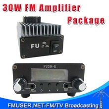 FMUSER FU-30A 30W Professional FM amplifier power amplifier Set for FM transmitter 85 to 110MHz+FU30-E 0.2w FM exciter