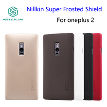 OnePlus 2 case Nillkin Super Frosted Shield Cover One Plus 2 5.5 inch Phone Cases And Screen Protector + Retailed Package