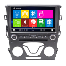 "LJDA 8"" Wince Car Entertainment System Multimedia Player For Ford mondeo 2014 Auto GPS Navigation Capacitive rear camera radio"