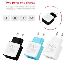 CARPRIE Hot Product Fashion 3.6A Triple USB Port Wall Home Travel AC Charger Adapter For Samsung For Apple EU Plug usb charger(China)