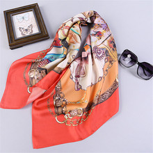 2016  cheap price silk scarf spring and autumn accessories women's summer sunscreen cape 100% real silk scarf, factory supply