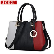 JOOZ New Arrival Women Messenger Bag patchwork Top Handbag Ladies inclined shoulder woman bags handbags women famous brands(China)