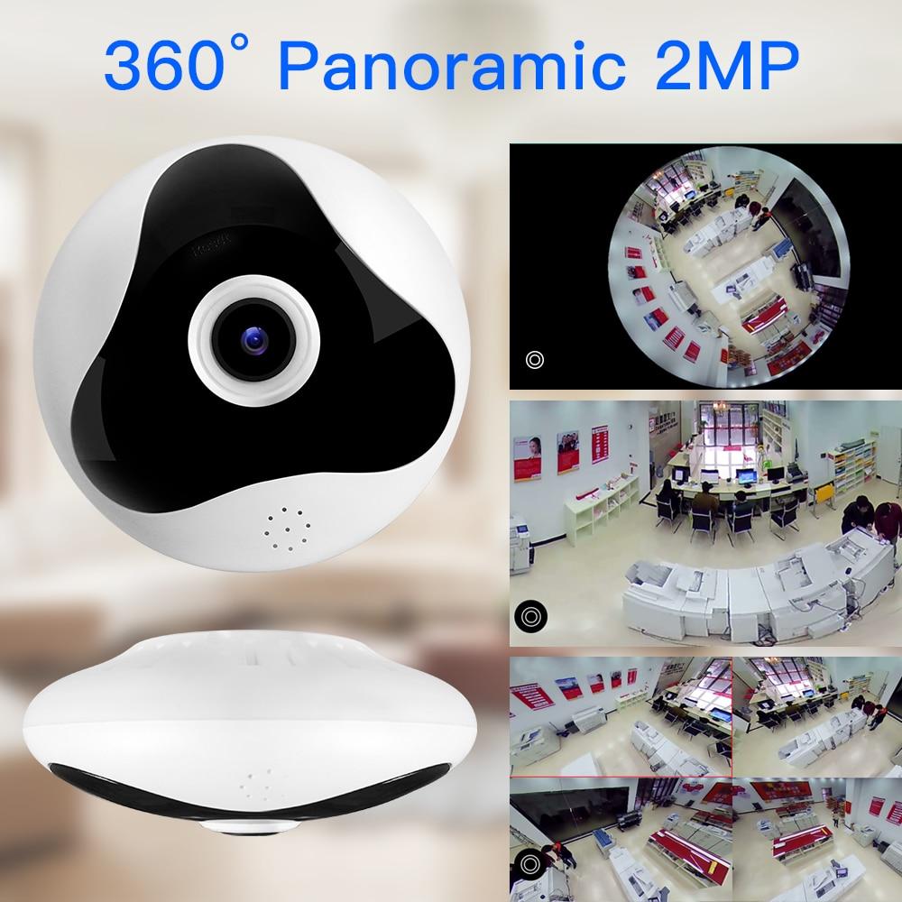 free shipping 1080P 360 Degree CCTV IP Camera Network Home Security Camera WIFI Panoramic IR Night Vision Surveillance Camera IP<br>