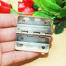 Bulk White/Silver Color Cabinet Door Luggage Hinge,Double Hinge Decor,Furniture Decoration,Antique Vintage Old Style,41*18*13mm(China)