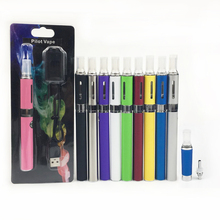 Pilot Vape MT3 Blister Card EGO-T Electronic Cigarette kits MT3-T Atomizer Tank 650mAh 900mAh 1100mAh EVOD Battery E Cig Kit(China)