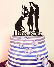 Anniversary Wedding Decoration Cake Toppers Mr & Mrs Wedding Decor Cake Toppers Bride & Groom Love Modern Toppers Custom Name