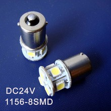 High quality 24V 1156 P21W R5W BA15s Truck led bulb BAU15s 1141 24v Freight car Led Side Turn Signals free shipping 20pcs/lot(China)