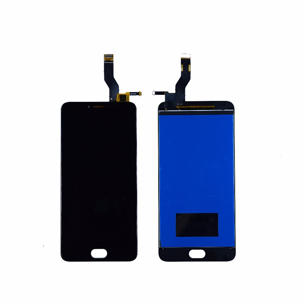 High Quality New Touch Screen Digitizer LCD Display Replacement For Meizu L681H  M3 NOTE M3NOTE 5.5inch white black Free Tools <br>