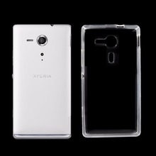 For Sony Xperia SP M35 M35h C5302 C5303 Case Cover Capa Ultra Slim Crystal Clear Soft TPU Silicone Phone Case For Sony Xperia SP