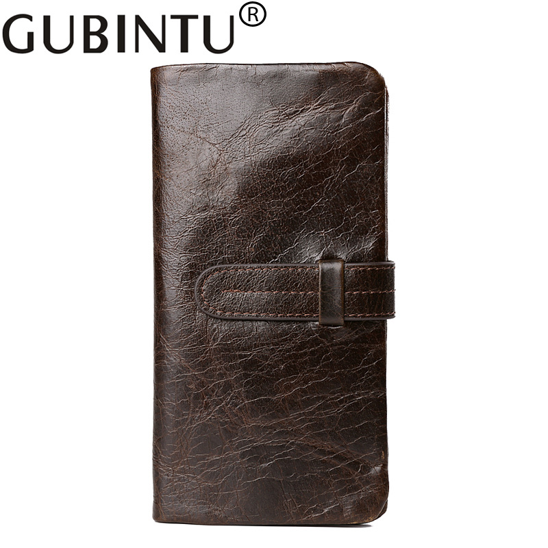 Wallet Men Genuine Leather Quality Guarantee Clutch Bag Men Wallets Purse Multifunctional Long Zipper Coin Bag For Cell Phone<br><br>Aliexpress