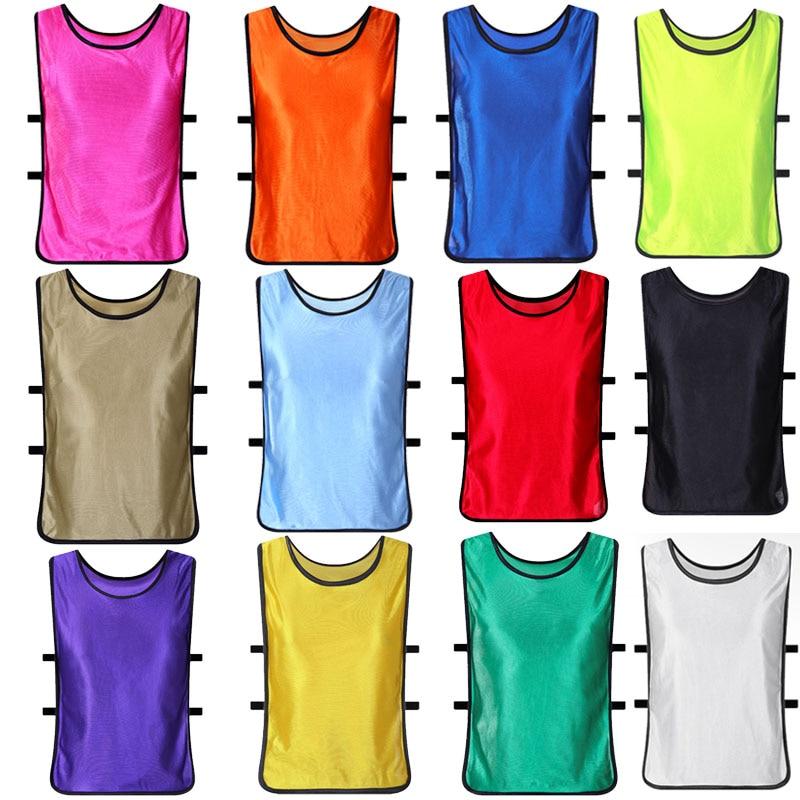 13 pcs Childrens/Kids Boys/Girls Football Sports Hi-Vis Reflective Vest/T-Shirt<br>
