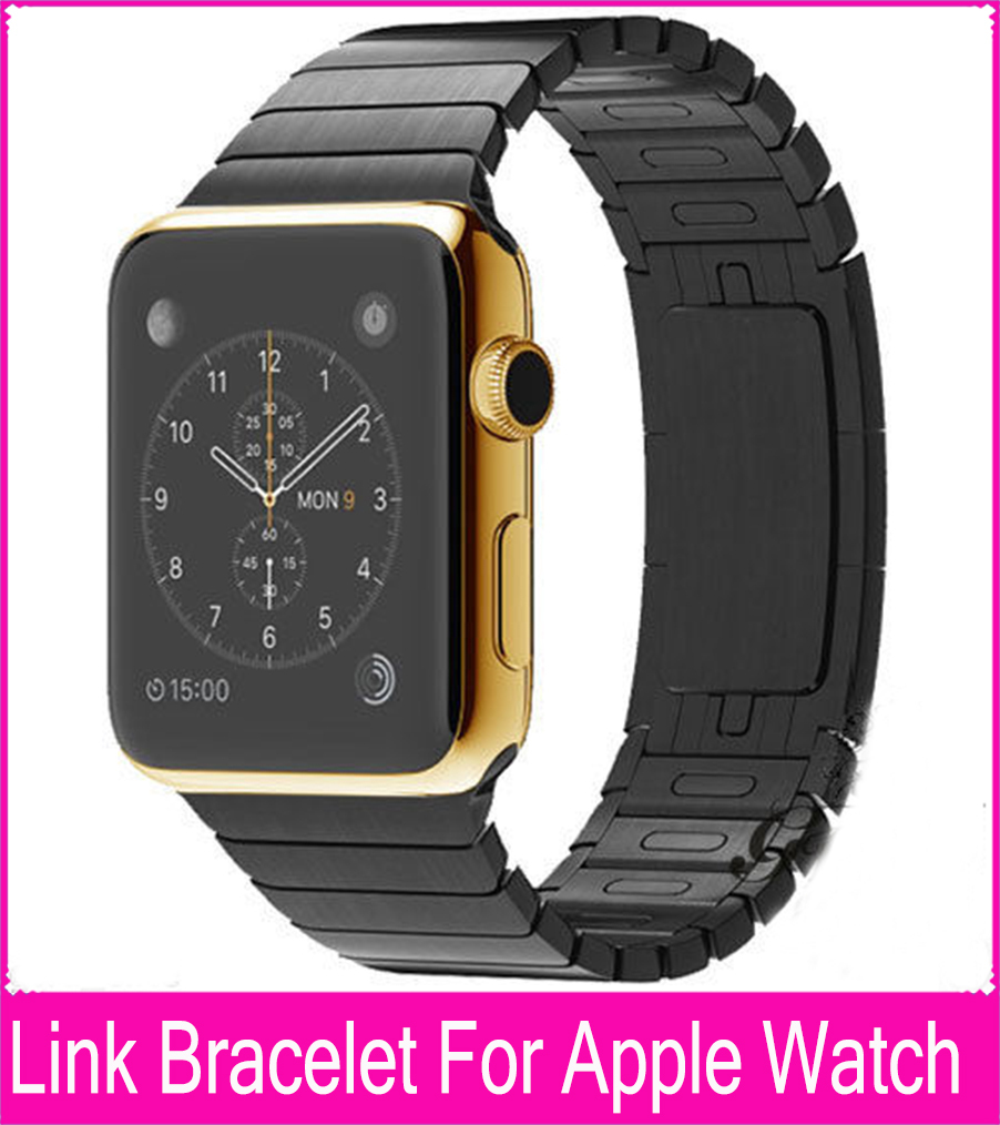 Luxury Space Gray Silver Link Bracelet Band For Apple Watch 42mm 38mm Stainless Steel Metal Watchbands Free Shipping  Banda<br><br>Aliexpress