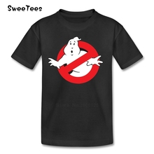 Ghostbusters Children Clothes T Shirt Infant Toddler Pure Cotton Boy Girl 2017 T-shirt Crew Neck Kid Tshirt(China)