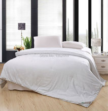 Factory Sale 260X240cm Whites Mulberry Silk Blanket Comforter Quilt---Make Any Size