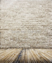 Photography Background Photo wood floor vinyl Digital Printing cloth backdrops for studio free shipping CM5674(China)