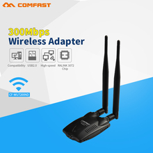 High power Wireless Wifi Adapter 12dB Wifi Antenna 300Mbps wi-fi USB Wireless Network Card 802.11b/g/n PC Computer Wifi Receiver