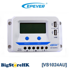 EPEVER 12V 24V Auto 10A Solar Controller with LCD Display Dual USB Solar Charge Contoller 2016 New Arrival