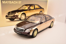* One Piece Only! Gold & Red 1:18 AutoArt AA Maybach 57 Diecast Model Car Luxury Collection Mini Model Car Kits Limitied Edition