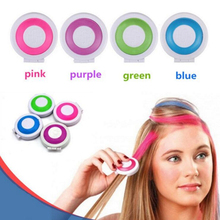 1 Set 4 Colors DIY Dye Hair Temporary Chalk Hair Dye Powder Soft Pastels Salon Style Styling Party Christmas #714