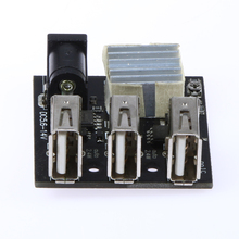 USB Power Bank Step-up Boost Module 3 USB mini Charging Module 7V/14V to 5V 8A Best Price