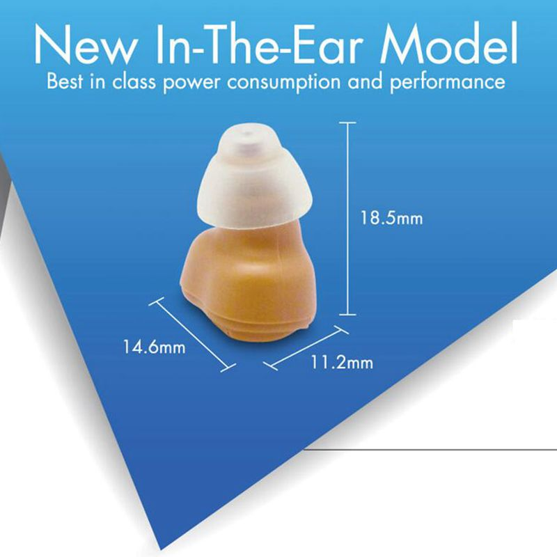 VOHOM VHP-601 hearing aids digital in the ear hearing aid adjustablemini in-ear amplifier invisible hearing aid for the elderly<br>