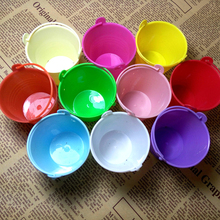 Factory directly sale wedding favor box colorful beach pail which made of pp plastic used as candy packing Wholesale