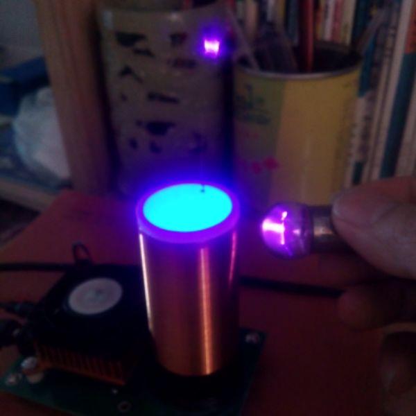 Electronic toys music Tesla coil  plasma speaker  wireless transmission distance<br>