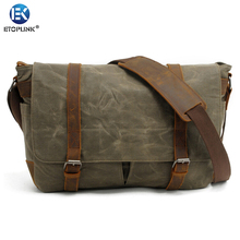 E6930 Portable Vintage Canvas DSLR Camera Shoulder Bag Diagonal Shoulder Messenger Bag for Canon for Nikon  for Sony for Olympus