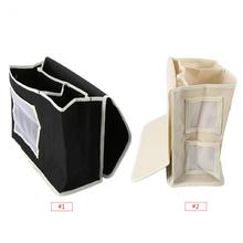 Durable Household Storage Bag Hanging Bedside Bed Sofa Storage Bag Remote Organizer Books Phones Container(China)