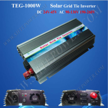 Pure sine wave 24-45v 1000w 220v on grid inverter solar safe and reliable