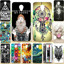 Meizu M3 Mini Case 5.0 inch Cool Design Colored Paiting Soft TPU Silicone Back Cover Case For Meizu M3s Mini Phone Cases