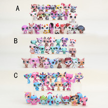 Anime Cute pet shop Animals Action Figure Collection Toys Scale Models Kids Toys Girl Dolls Gifts
