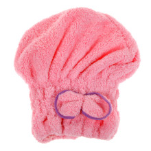 Home Textile Microfiber Hair Turban Quickly Dry Hair Hat Wrapped Towel Bath Shower Caps