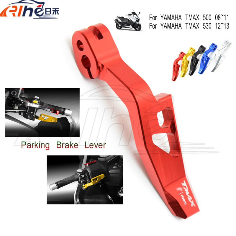style motorcycle accessories cnc aluminum hand brake lever red color parking brake lever For YAMAHA TMAX 530 2012-2014<br><br>Aliexpress