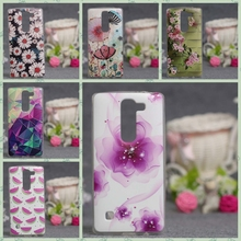 New Beautiful Flower 3D Relief Painted Soft TPU Cover Case For LG Spirit H440Y H420 H422 H440N Phone Shell Cases Soft Silicone