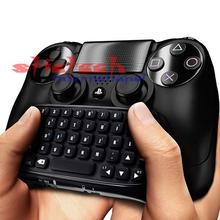 by dhl or ems 20 sets Useful 2016 Hot Sale Fantastic Wireless Bluetooth Keyboard Chatpad For PS4 PlayStation 4 Controller