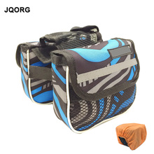 JQORG Brand Cycling Accessories Bicycle Frame Fix Bag Water Proof Travel Mountain Bike Bags Polyester Material High Quality Bag(China)
