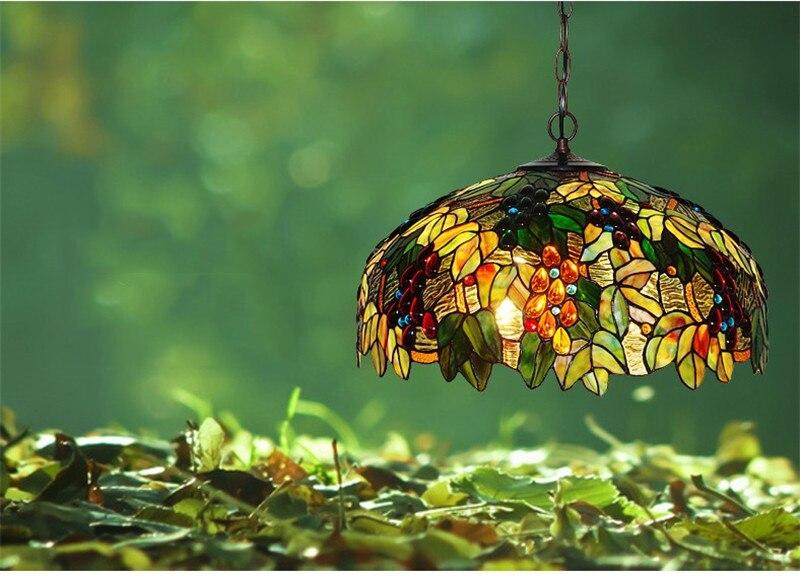 Tiffany hanging lamp light (5)
