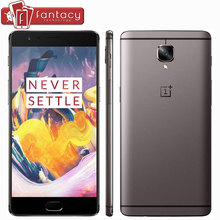 "Original Oneplus 3T Snapdragon 821 Quad Core Cell Phone 5.5"" 1080P 6GB RAM 64GB ROM FDD LTE 4G Fingerprint 16.0MP Front Camera"