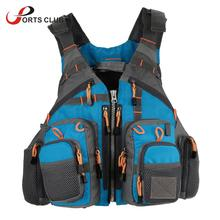 Fly Fishing Vest Backpack MultiPocket Safty Floatation 11 Pocket Outdoor Sports Outerwear Vest Army Green Carp Fish Accessory(China)