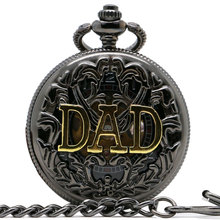 2016 New Arrive Luxury Skeleton DAD Pocket Watch Mechanical Retro Watches Gift For Father