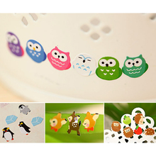 1 Sheet Cartoon Animal Diary Sticker Paper DIY Scrapbooking Decoration Stickers On Paper Card Lovely